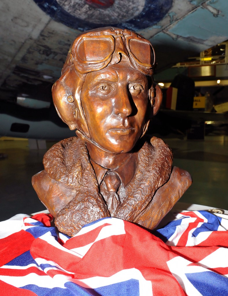 Bust of Eric Winkle Brown unvailing at the FAAM